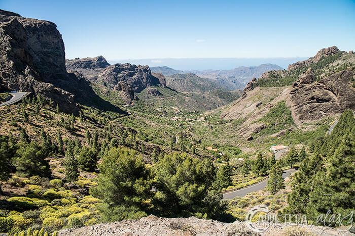 Vistas del Roque Nublo, Gran Canaria
