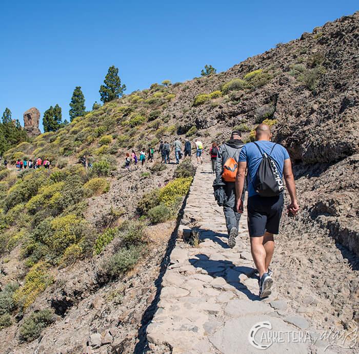 Ruta Roque Nublo, Gran Canaria