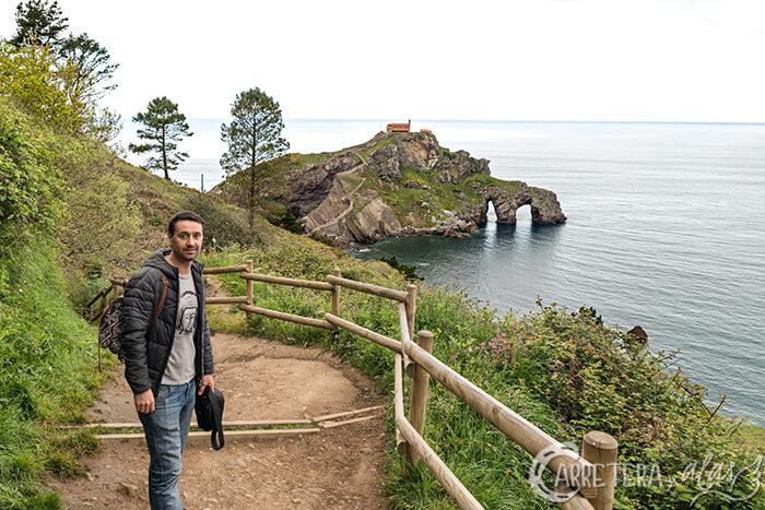 Camino a San Juan de Gaztelugatxe desde Eneperi